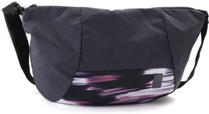 2350c27b85 Puma Women Casual Black Shoulder Bag Periscope-Black-Graphic - Price in  India