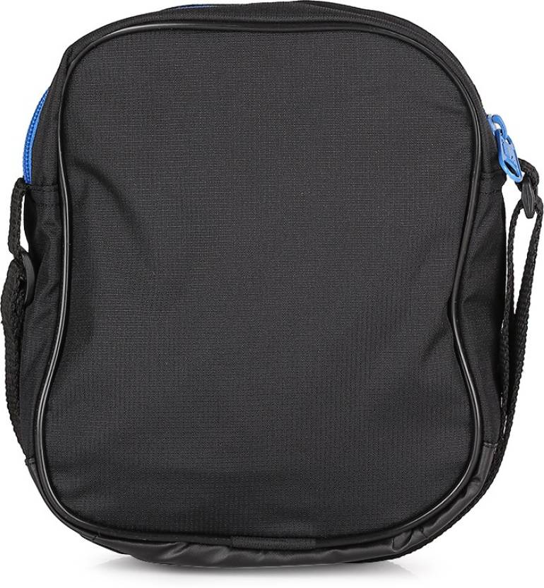 Puma Men Casual Polyester Sling Bag Puma Black Puma Royal Price In