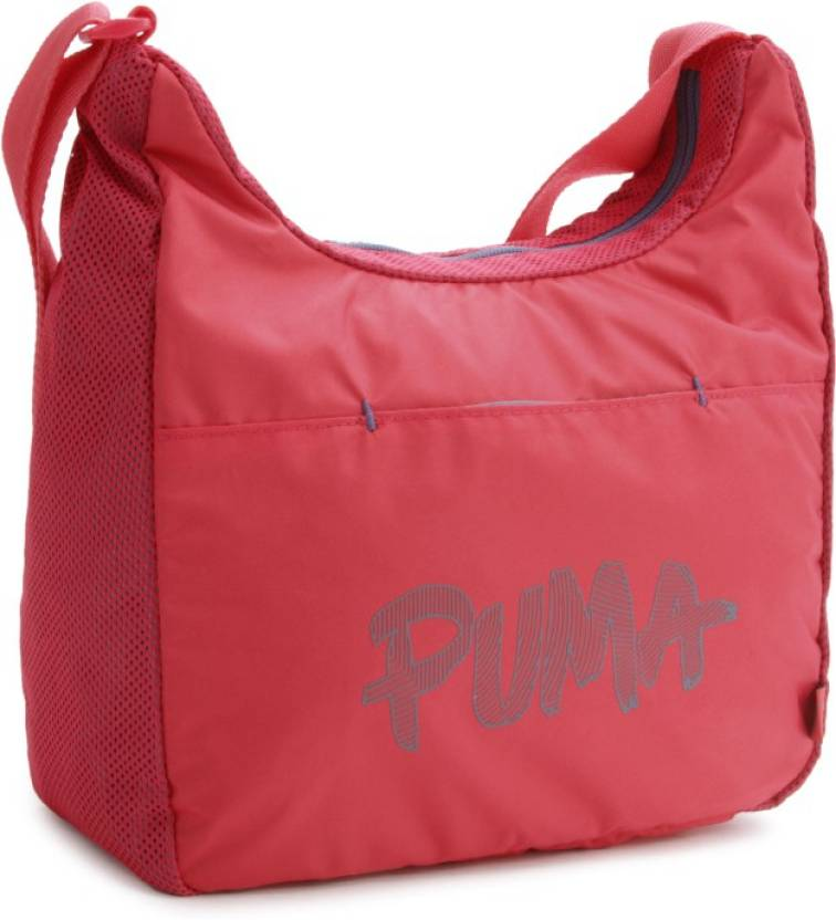 57919e490c Puma Women Formal Pink Sling Bag rose red-bering sea - Price in India