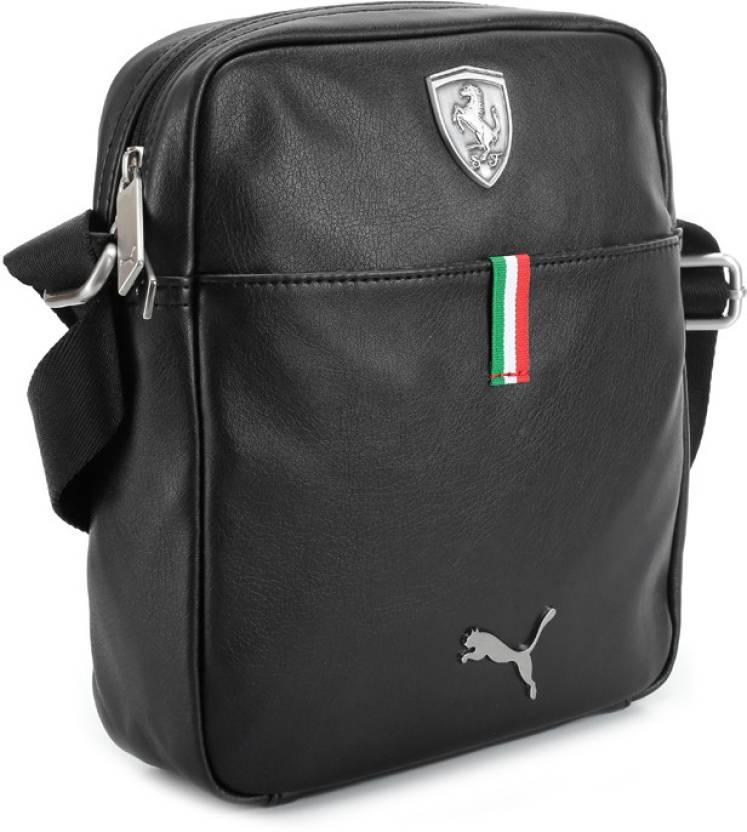 ecbf2546fc0a Puma Men   Women Casual Black Sling Bag Black - Price in India ...