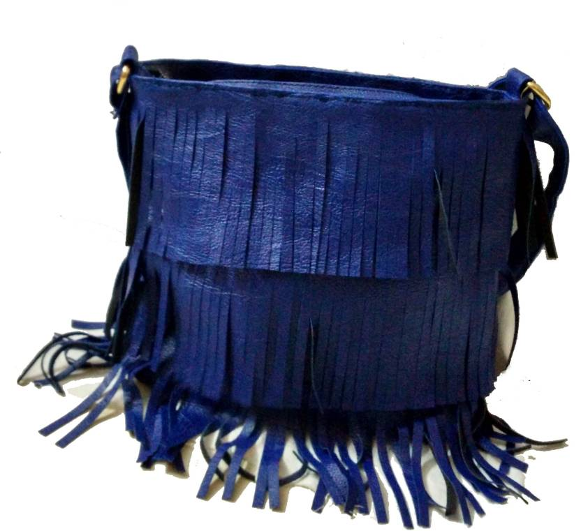 Craveforit Women Casual Blue PU Sling Bag Blue - Price in India ... 0ab87096e