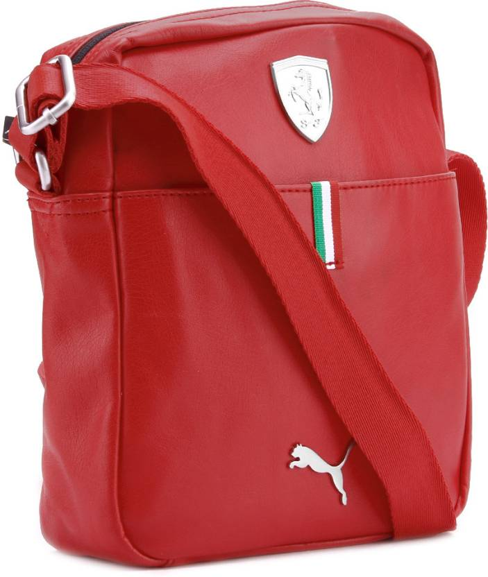 676ea5ccd056 Puma Men   Women Casual Red Sling Bag Rosso Corsa - Price in India ...
