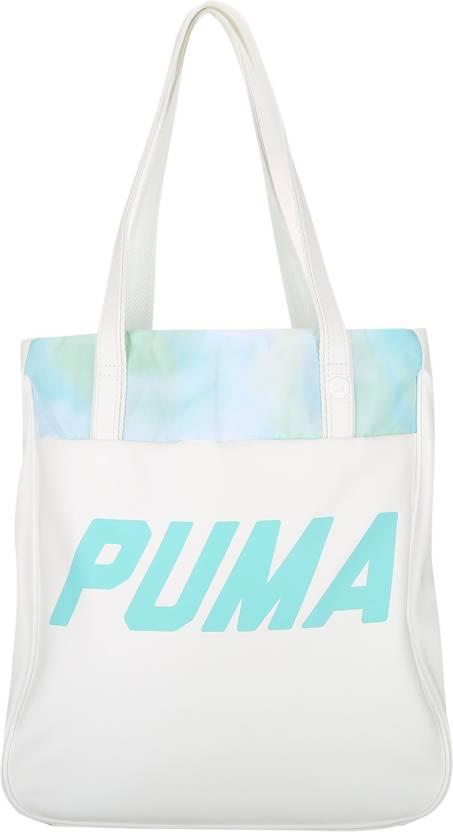 6d7301f519 Puma Women Casual White PU Sling Bag White - Price in India ...