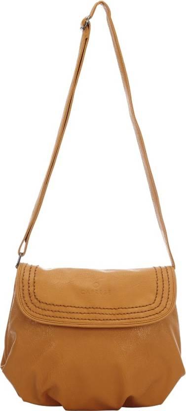 Caprese Women Yellow Shoulder Bag