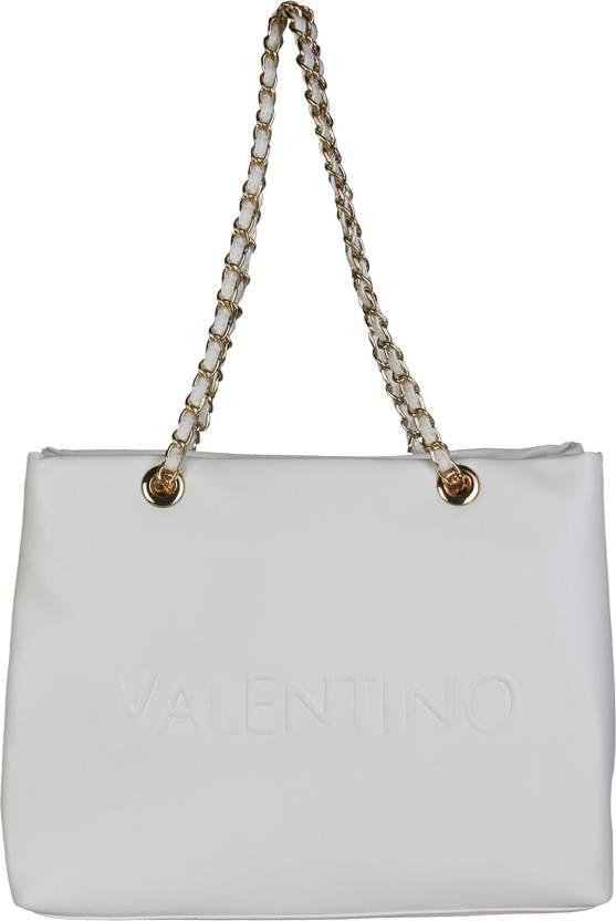 f996d6be0c MARIO VALENTINO Women Casual White Genuine Leather Sling Bag White - Price  in India | Flipkart.com
