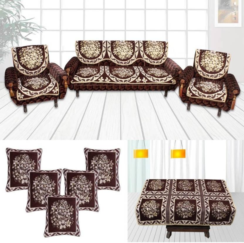 Furnishing Zone Velvet Sofa Cover