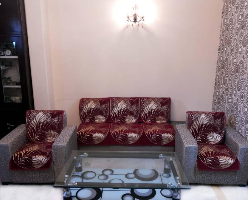 SHC Velvet Sofa Cover Price in India Buy SHC Velvet Sofa Cover