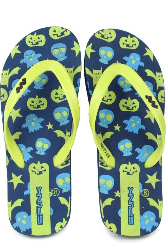 1eb91fadedbd Spunk by FBB Flip Flops - Buy Navy   Lime Color Spunk by FBB Flip Flops  Online at Best Price - Shop Online for Footwears in India
