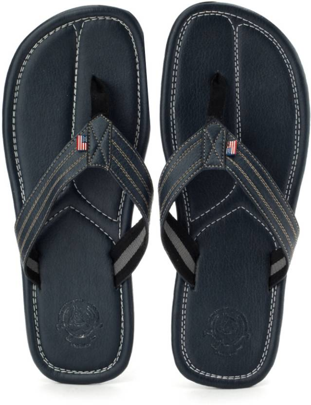eeab48ed5 U.S. Polo Assn Slippers - Buy Navy Color U.S. Polo Assn Slippers Online at Best  Price - Shop Online for Footwears in India