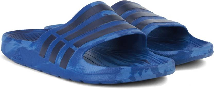 962e693066b604 ADIDAS DURAMO SLIDE MARBLED Slippers - Buy CROYAL MIDIND BLUE Color ...