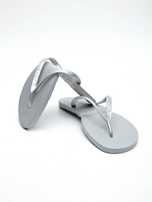 174b736799f9 Salvatos Silver Folding Flip Flops - Buy Grey Color Salvatos Silver Folding  Flip Flops Online at Best Price - Shop Online for Footwears in India