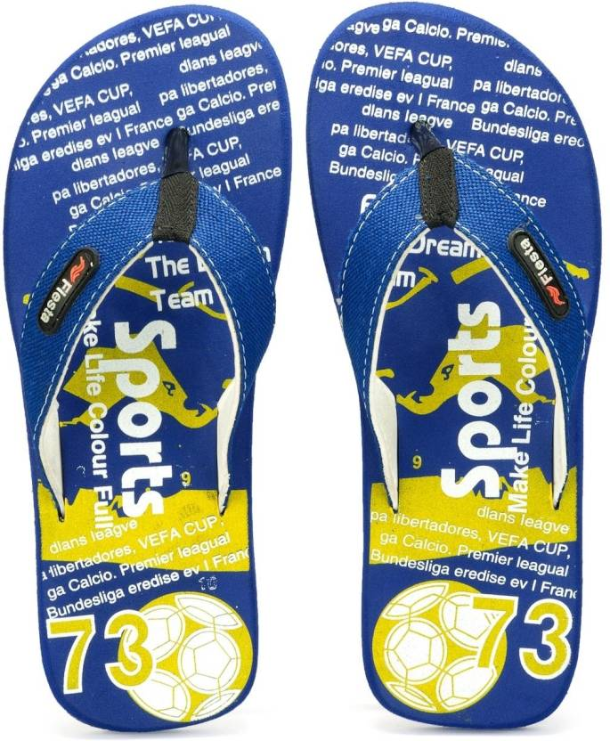 58ec56a9dade3d Frestol Fiesta Sports Flip Flops - Buy Blue Color Frestol Fiesta Sports Flip  Flops Online at Best Price - Shop Online for Footwears in India