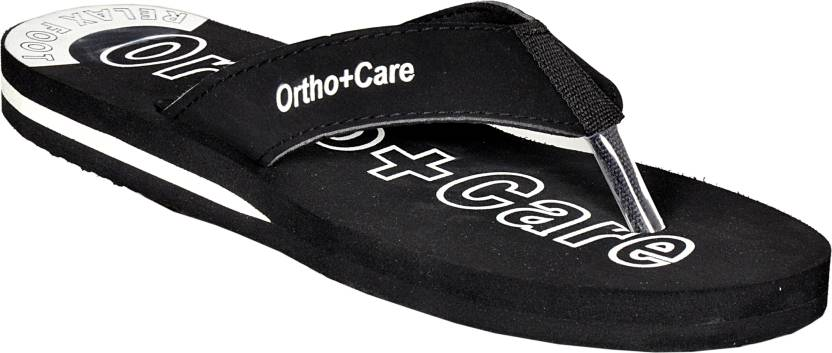 f384529715 OrthoCare Slippers - Buy Black Color OrthoCare Slippers Online at ...
