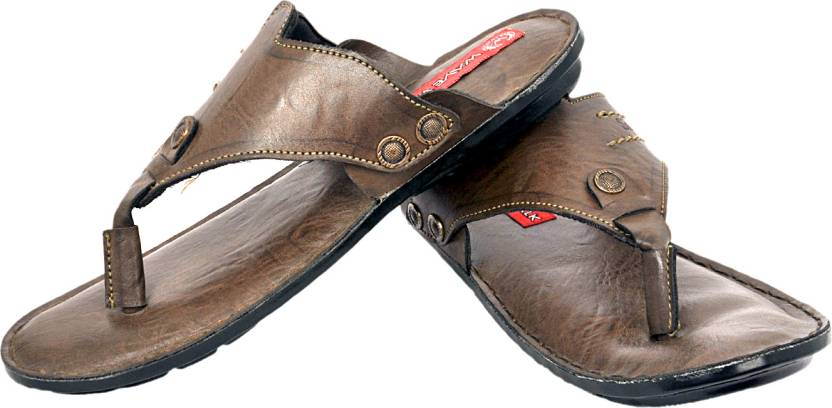 d35e40d12a84 Wave Walk Sicily Slippers - Buy Brown Color Wave Walk Sicily Slippers  Online at Best Price - Shop Online for Footwears in India