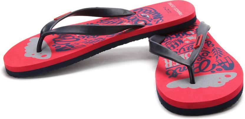 915ea17010bc Franco Leone Flip Flops - Buy Red Color Franco Leone Flip Flops Online at  Best Price - Shop Online for Footwears in India