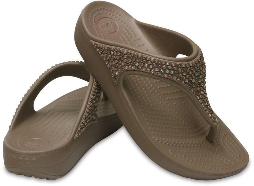 26180c658d4d5d Crocs Flip Flops - Buy 204181-195 Color Crocs Flip Flops Online at Best  Price - Shop Online for Footwears in India