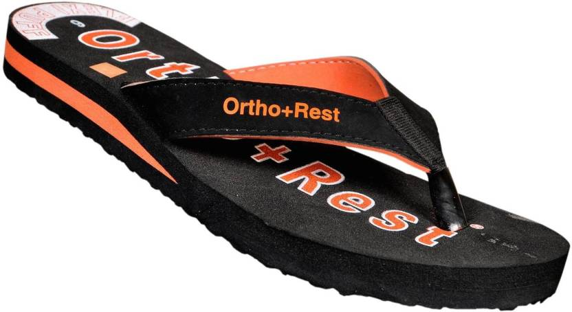 d5f74671fd6 Ortho + Rest L-222 Flip Flops - Buy Black Color Ortho + Rest L-222 Flip  Flops Online at Best Price - Shop Online for Footwears in India