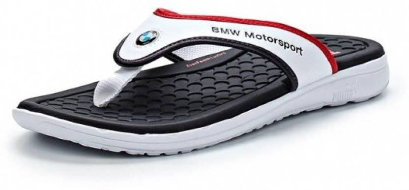 fceea1ba7d5f43 Puma Slippers - Buy white-bmw team blue Color Puma Slippers Online at Best  Price - Shop Online for Footwears in India