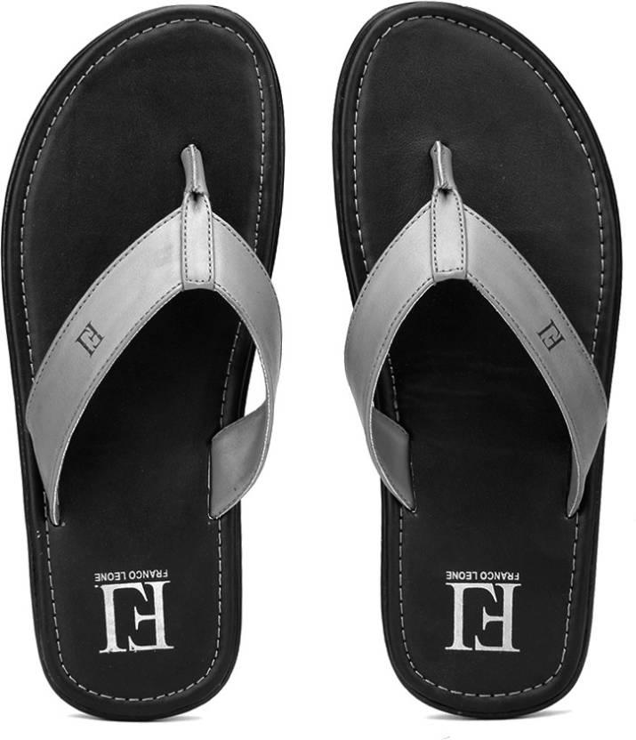 988d351c08fd Franco Leone Flip Flops - Buy Grey Color Franco Leone Flip Flops Online at  Best Price - Shop Online for Footwears in India