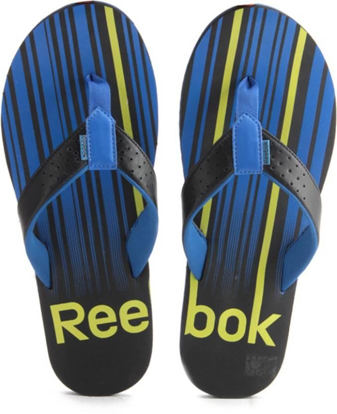 1a5139730b1461 REEBOK Slippers - Buy Black