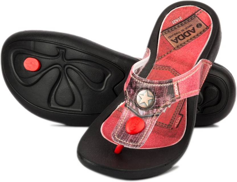 ADDA Girls Slipper Flip Flop Price in India - Buy ADDA Girls ...