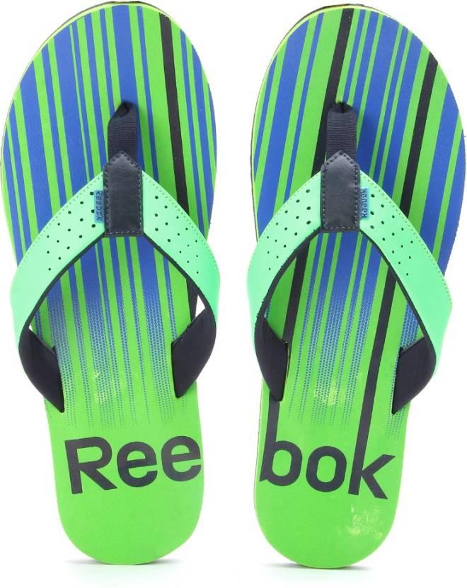 b5cc8479f18a09 REEBOK Slippers - Buy Neon Green