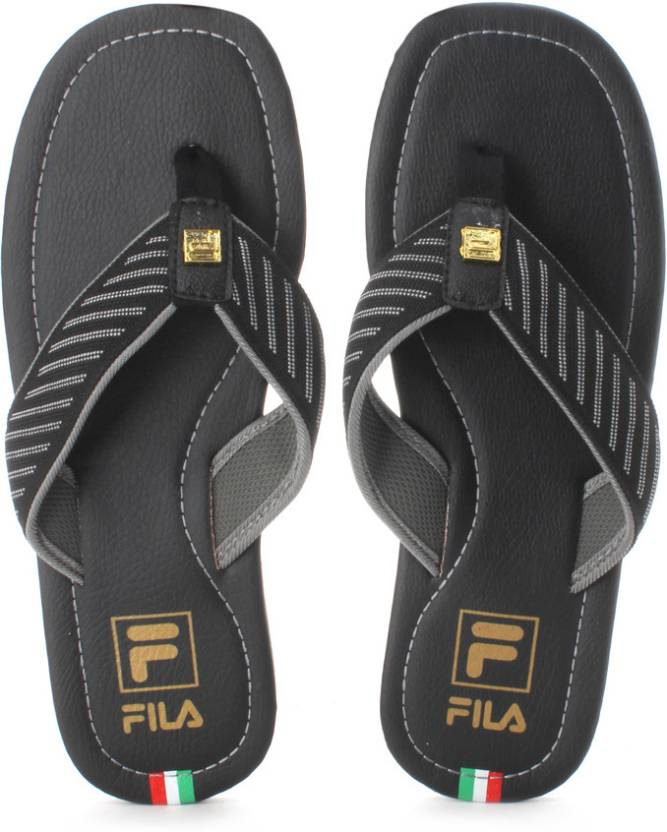 7859a0346 Fila Italia Stripes Flip Flops - Buy Black