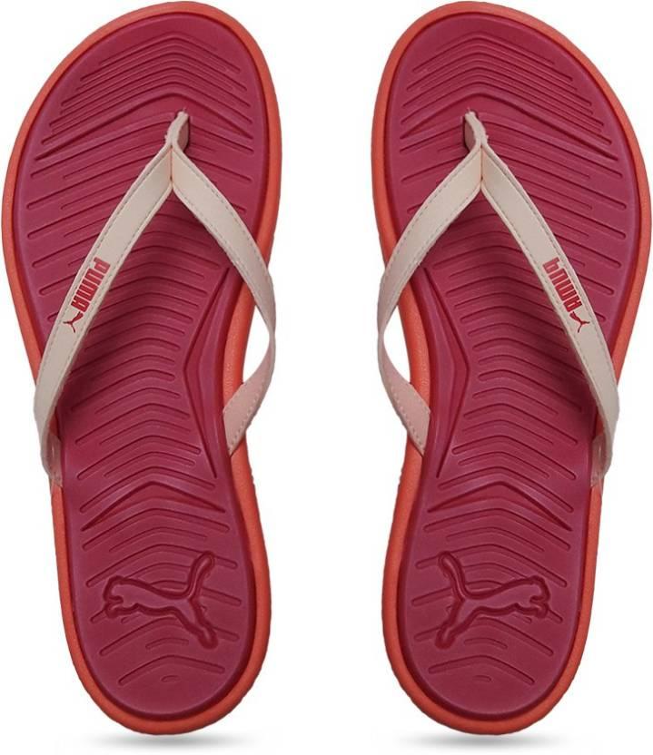 55b24384113 Puma Lux Flip Pro Wns DP Flip Flops - Buy rose red-fluo peach Color Puma  Lux Flip Pro Wns DP Flip Flops Online at Best Price - Shop Online for  Footwears in ...