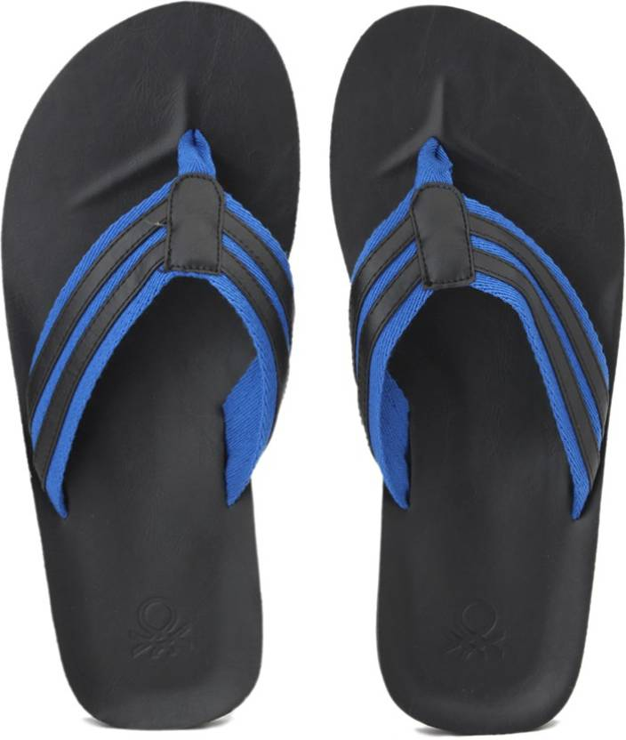 b1d74242d United Colors of Benetton 16A8TIMEFW12I Slippers - Buy BLUE Color United  Colors of Benetton 16A8TIMEFW12I Slippers Online at Best Price - Shop Online  for ...