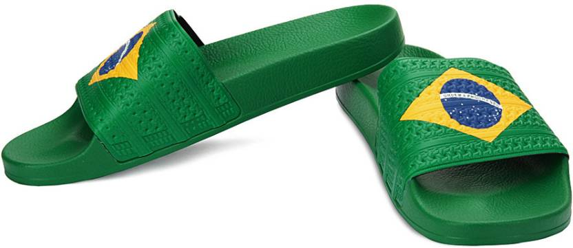 972d78811 ADIDAS ORIGINALS Adilette Flags Slippers - Buy Green Color ADIDAS ...