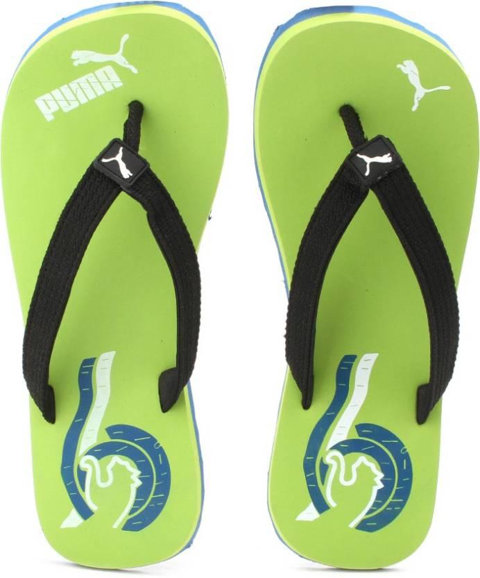 f9d11de15 Puma Wave DP Flip Flops - Buy Parrot Green