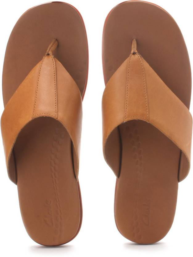 253c56d3c25 Clarks Valor Beach Slippers - Buy Tan Color Clarks Valor Beach Slippers  Online at Best Price - Shop Online for Footwears in India