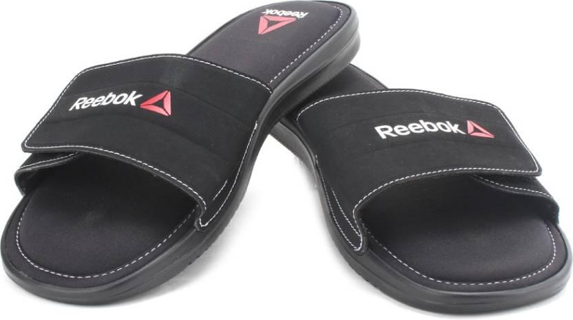 159b7d9ef REEBOK Comfort Slide Slippers - Buy Black