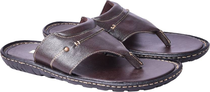 3a6eeed738b72e Andrew Scott Slippers - Buy Brown Color Andrew Scott Slippers Online ...