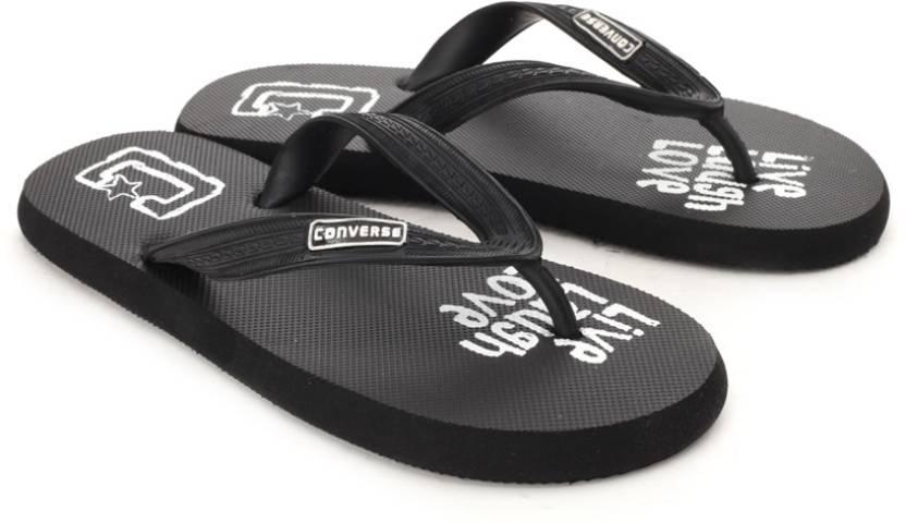 4c590208e7b6 Converse Flip Flops - Buy Black Color Converse Flip Flops Online at Best  Price - Shop Online for Footwears in India