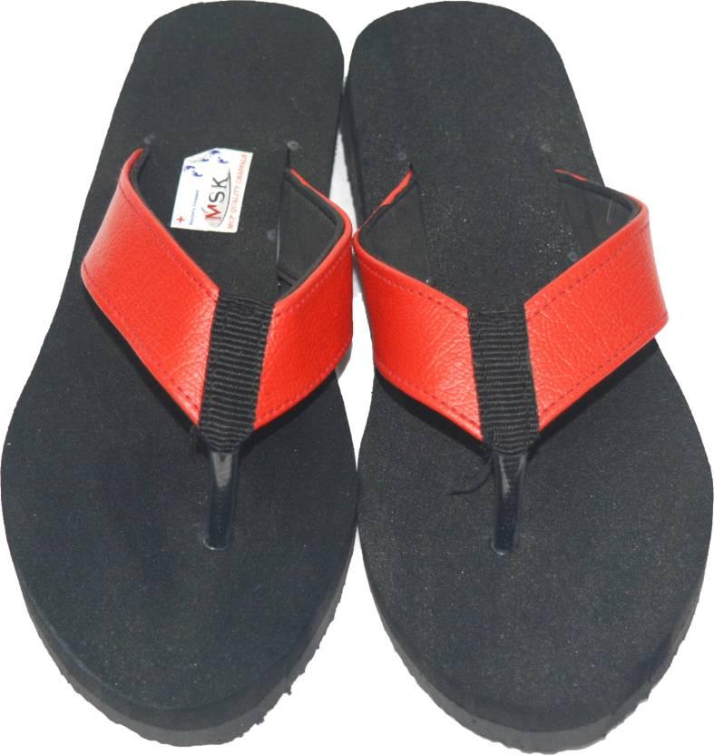 Msk Slippers Buy Black Color Msk Slippers Online At Best Price