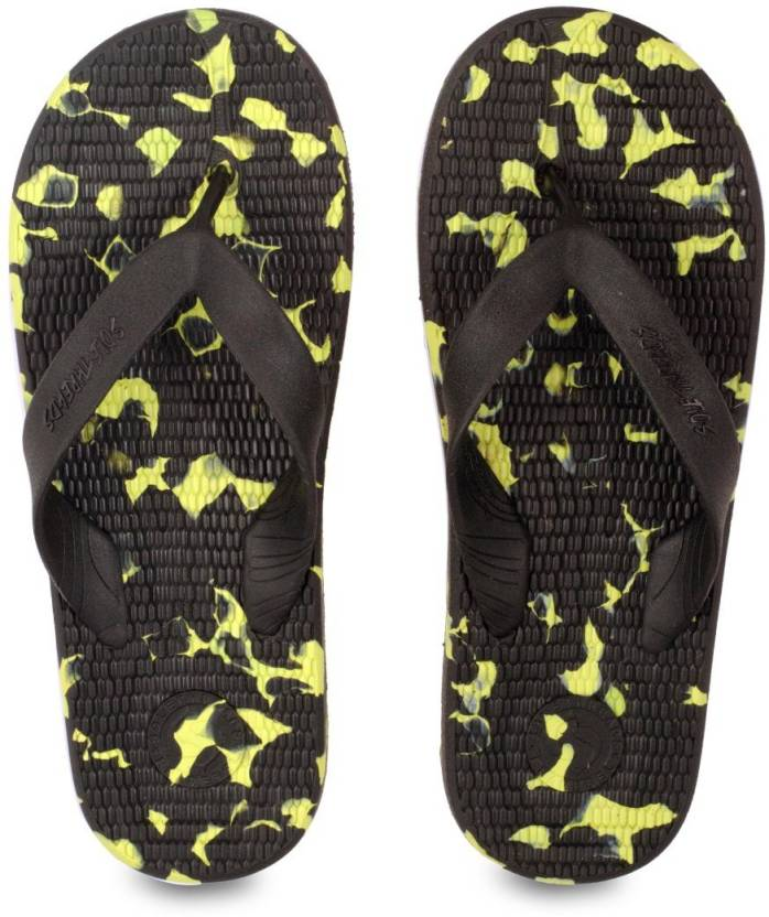 e1dfd6b8c3f42 Sole Threads Flip Flops - Buy Black Lime Color Sole Threads Flip Flops  Online at Best Price - Shop Online for Footwears in India