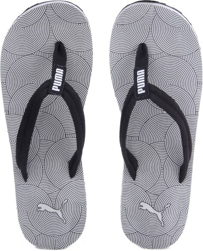9e00a4012d99 Puma Epic Flip v2 Graphic Mens DP Slippers - Buy limestone gray-black Color Puma  Epic Flip v2 Graphic Mens DP Slippers Online at Best Price - Shop Online ...