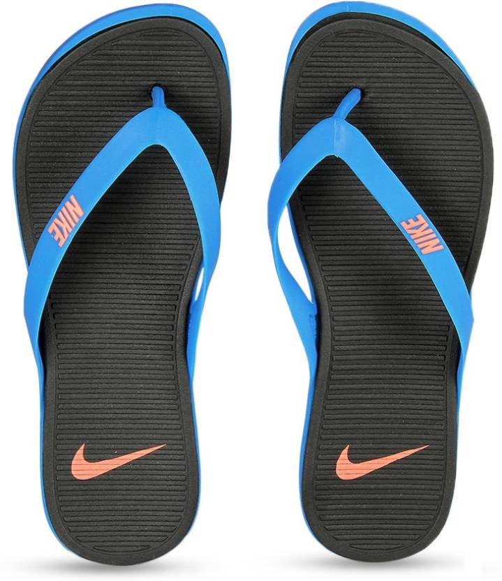 2951a9d5b22b Nike MATIRA THONG Slippers - Buy PHOTO BLUE   BRIGHT MANGO - BLACK Color Nike  MATIRA THONG Slippers Online at Best Price - Shop Online for Footwears in  ...