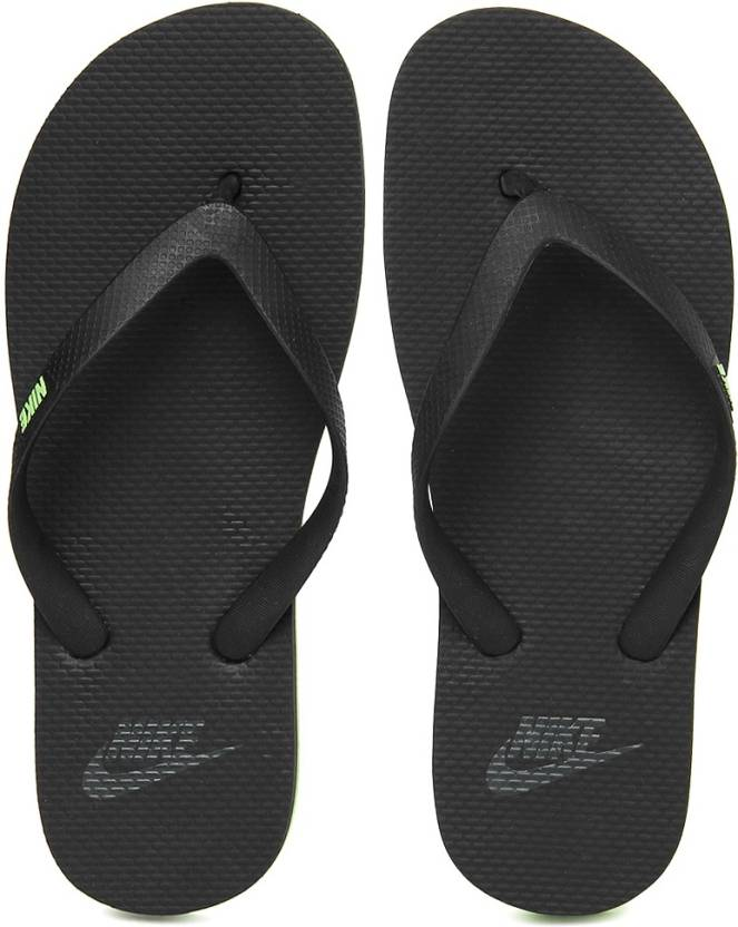 1f1249159efb Nike Wmns Aquaswift Thong In Flip Flops - Buy BLACK CLASSIC CHARCL-VOLT  Color Nike Wmns Aquaswift Thong In Flip Flops Online at Best Price - Shop  Online for ...