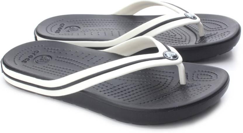 8d9c1bb8279f92 Crocs Crocband Flipswitch Women Flip Flops - Buy Black