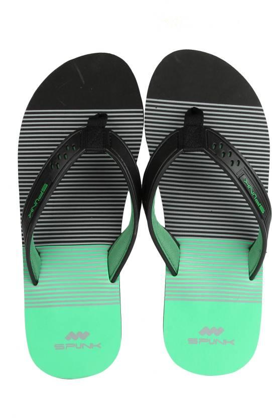 758708d95f21 Spunk by FBB Flip Flops - Buy Black green Color Spunk by FBB Flip Flops  Online at Best Price - Shop Online for Footwears in India