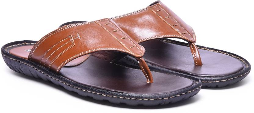 aab4e2ab15748a Andrew Scott Slippers - Buy Tan Color Andrew Scott Slippers Online ...