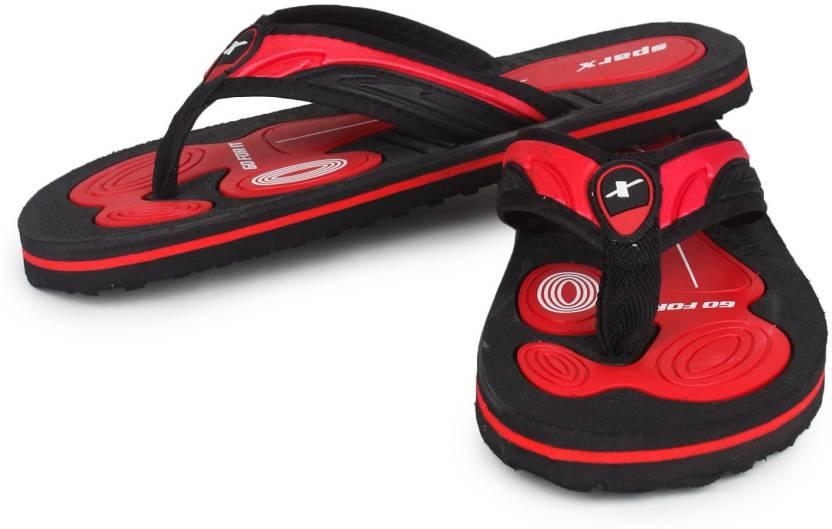 dd17d46d0389 Sparx SFG-40 Flip Flops - Buy BlackRed Color Sparx SFG-40 Flip Flops Online  at Best Price - Shop Online for Footwears in India