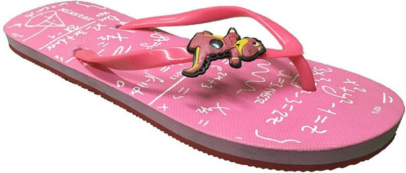 fe18741b032 Shoe Lab Slippers - Buy Pink Color Shoe Lab Slippers Online at Best ...