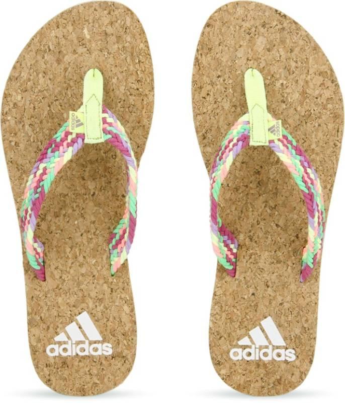 7eeb38385e1270 ADIDAS Beach Cork 1.0 Women Flip Flops - Buy Pink Color ADIDAS Beach Cork  1.0 Women Flip Flops Online at Best Price - Shop Online for Footwears in  India ...