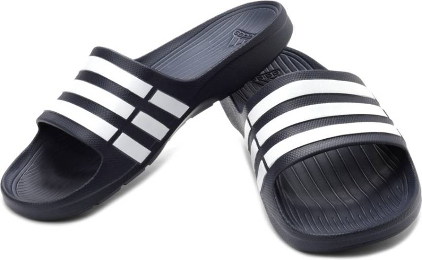 60529c32899 ADIDAS Duramo Slide Slippers - Buy Navy Color ADIDAS Duramo Slide Slippers  Online at Best Price - Shop Online for Footwears in India
