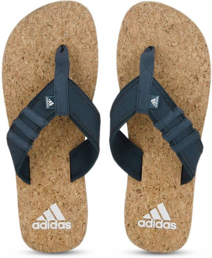 85e3a1f0e888 ADIDAS BEACH CORK Slippers - Buy CONAVY WHITE Color ADIDAS BEACH CORK  Slippers Online at Best Price - Shop Online for Footwears in India