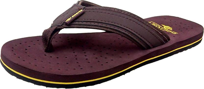 593c2a8c4 DHL Slippers - Buy Brown Color DHL Slippers Online at Best Price ...