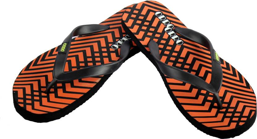 9175f05ba8a1a6 Orro Slippers - Buy Black Orange Color Orro Slippers Online at Best Price -  Shop Online for Footwears in India